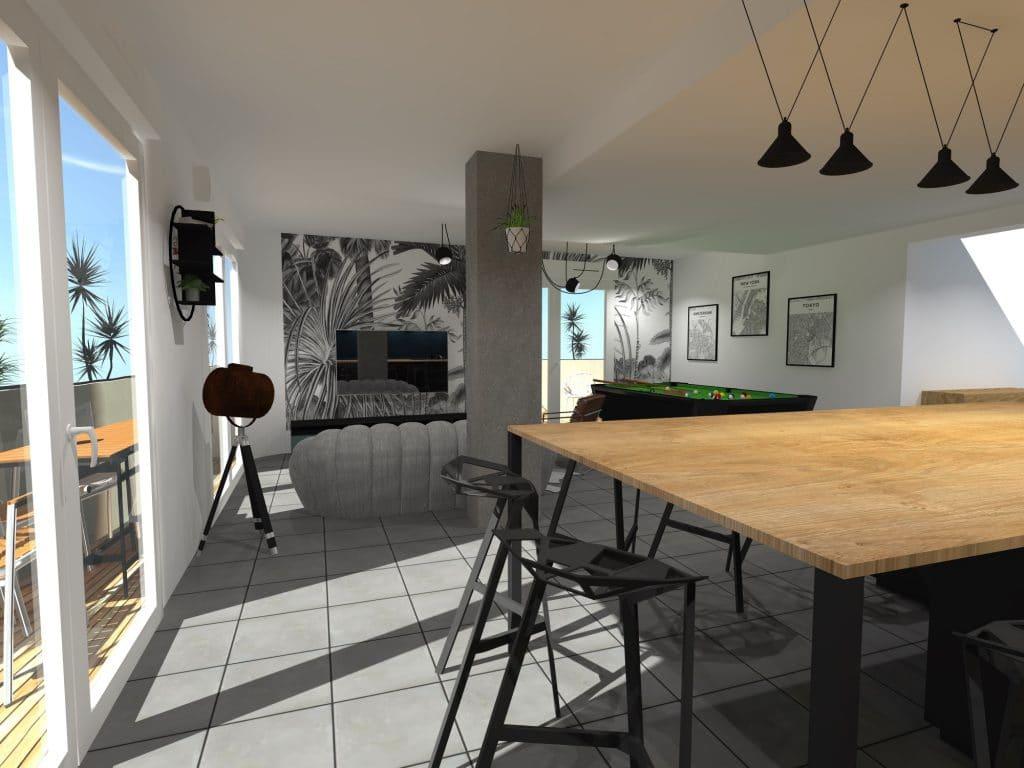 decoratateur-architectedinterieur-montpellier-cuisine-amenagement-ilot-chene-ameublement-surmesure-billard-herault-miele-travaux-construction-rochebobois-flos