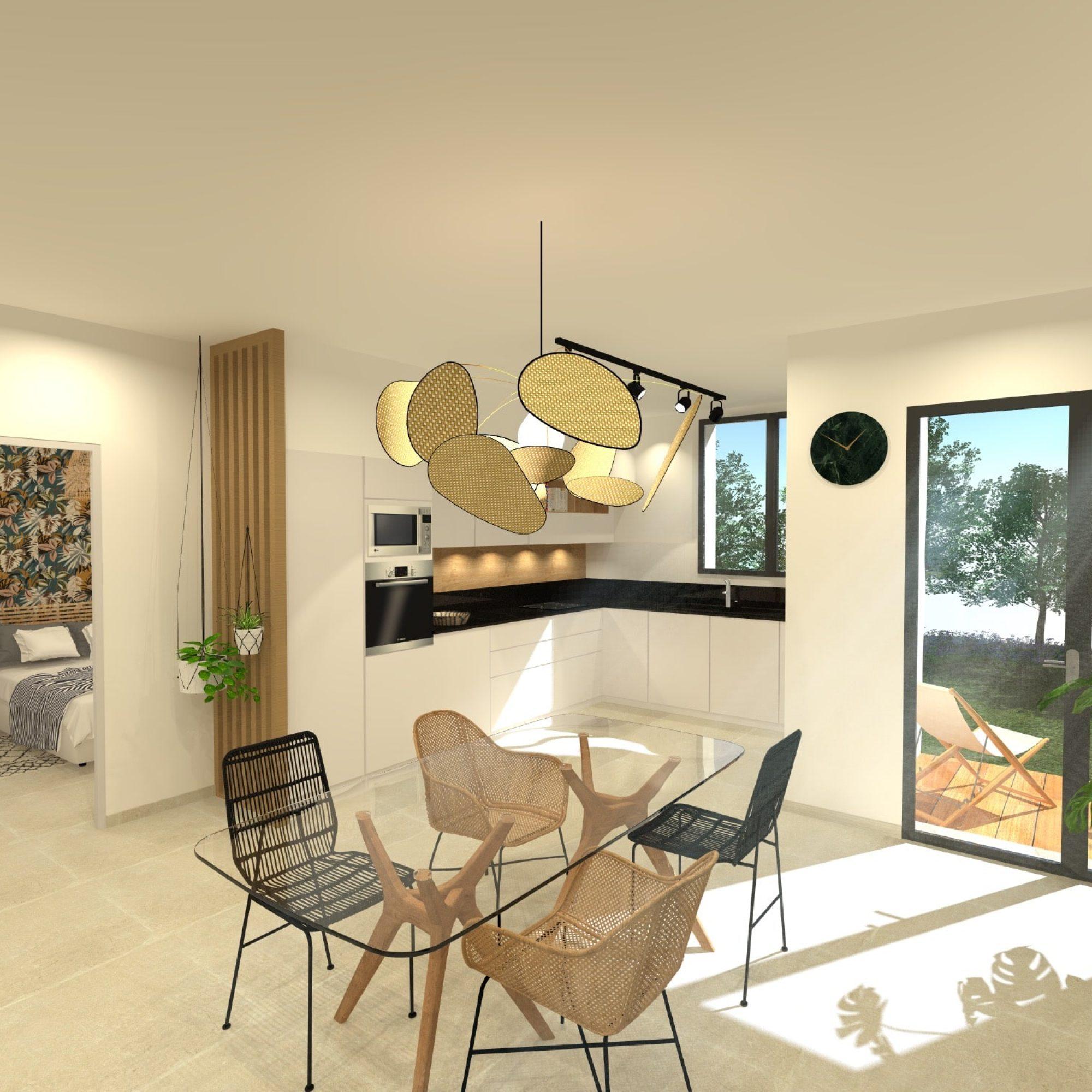 rénovation-travaux-architecte-mauguio-decoratateur-architectedinterieur-montpellier-cuisine-amenagement-ilot-chene-ameublement-surmesure-billard-herault-miele-travaux-construction-rochebobois-flos